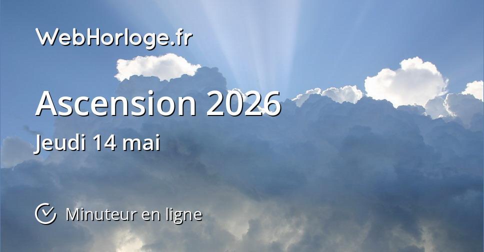 Ascension 2026